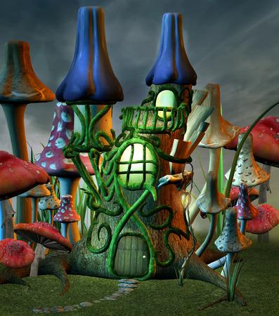 fairytale: fairytale castle