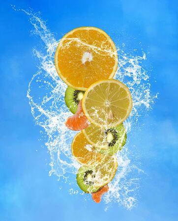 Vitamin c fruit composition 版權商用圖片