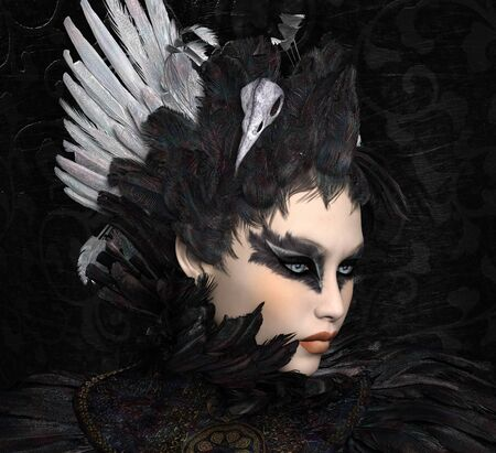 The black swan portrait
