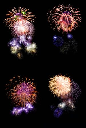 xxxl: xxxl collection of firework high quality long exposure photos