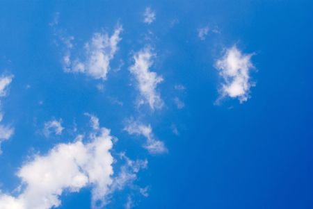 photo of blue sky with clouds Stock Photo - 3563318