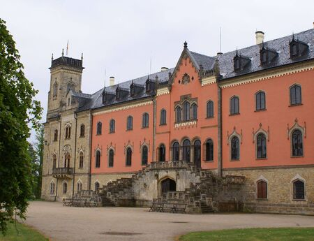 Photo of Sychrov castle in Czech republic