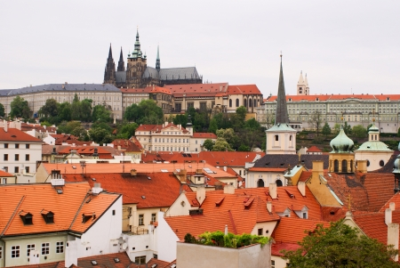 photo of old town of Prague, Czech Republic