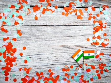India independence day August 15, concept of faith , freedom, patriotism, day of remembrance and joy Imagens