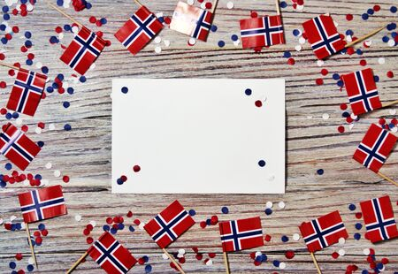 Norwegian 17'th of may. Norways Constitution Day is celebrated on May 17 when the nations constitution was signed at Eidsvoll on May 17, 1814 Фото со стока
