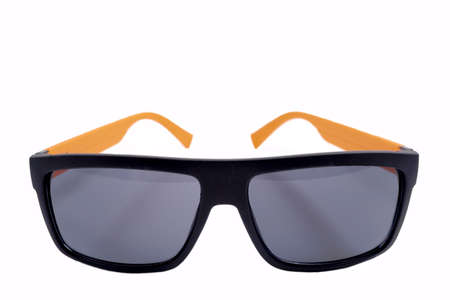 unisex: sunglasses black unisex Stock Photo