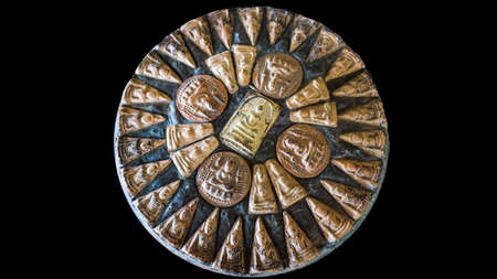 medallion: ethnic medallion Stock Photo