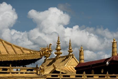 Jokhang Temple Tibetan Buddhism Lhasa Tibet