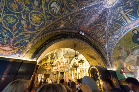 Church of the Holy Sepulchre Jerusalem, ISRAEL- MARCH 23, 2018