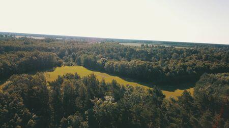 Aerial view of coastline Jurkalne Baltic sea Latvia Stock fotó - 129687436