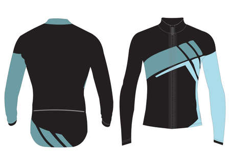 Custom Cycling Jerseys Designs and templates vector
