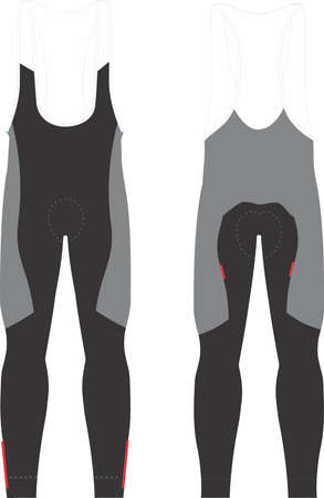 Bib Tights for men illustrations vectors