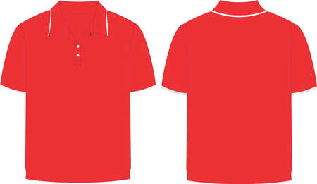Half Sleeve t shirt Mock ups illustrations templates