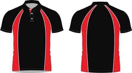 custom design Polo Shirt Mock ups illustrations templates Vectors 矢量图像