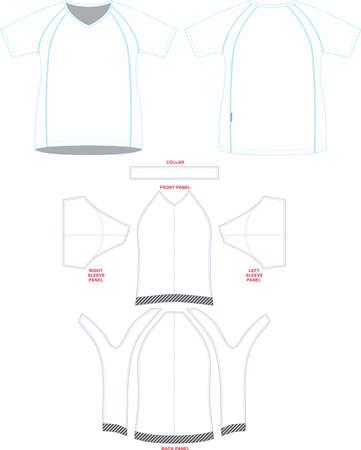 Women Running Shirts Custom Design Mock ups and Artworks Blank template Vectors