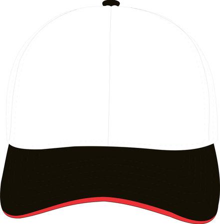 Hats Mock ups templates Design vectors