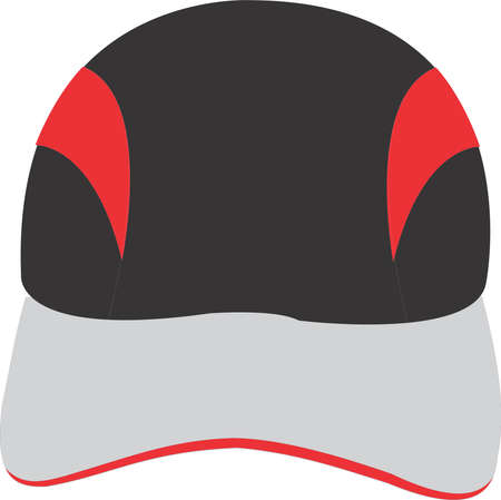 Running Cap Mock ups templates illustrations