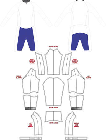 Flash LS Speed Suit Mock ups And Artworks Patterns Vectors
