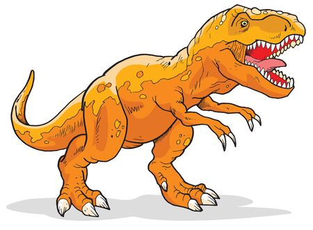 Tyrannosaurus Vector Illustration Suitable For Graphic Design Project
