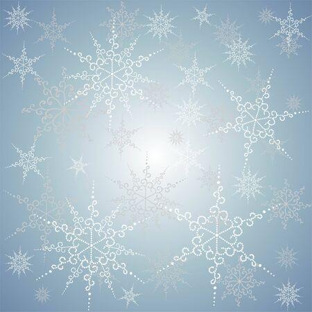 Seamless  snowflakes. Vector