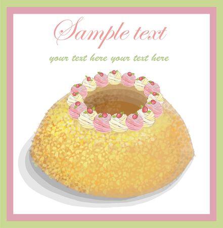 fruitcake: Illustrations of the cake.