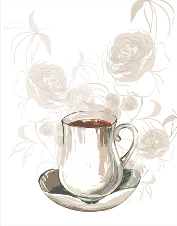 Coffee cup Stock Vector - 9047713