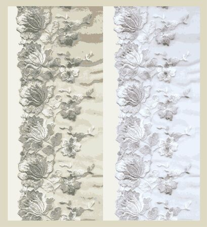 lacework: Lace. Illustration