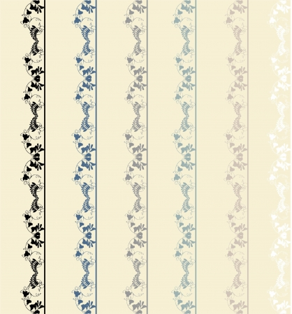 Greeting card with lace.Seamless background. Illustration lace. Vector