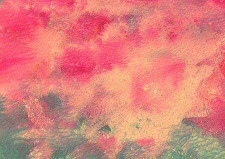 Motif abstrait fait à la main, arrière-plan multicolore, gouache, aquarelle, peinture à l'huile d'imitation, pour le design et la décoration
