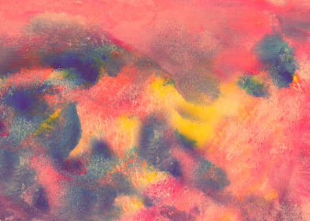 Abstract multicolored watercolor texture, for the design of creative works