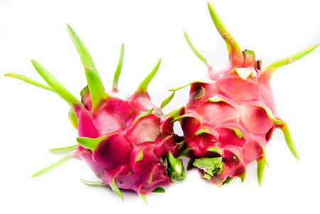 dragonfruit: Dragonfruit with white background