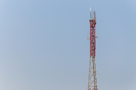 Antenna in  day time  photo
