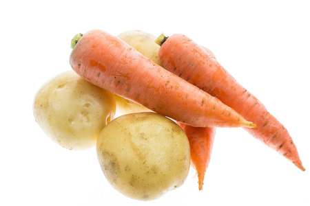 collocation: Carrots and potatoes