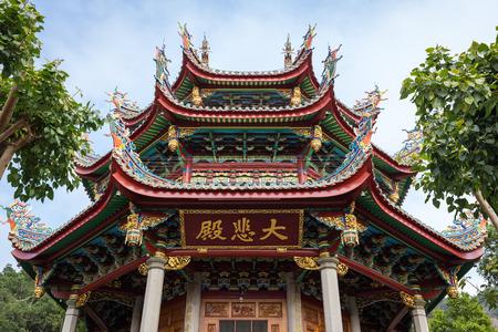 Dabie hall, South Putuo Temple. in Xiamen, Fujian Province