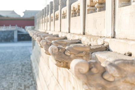 Forbidden City Marble Railing