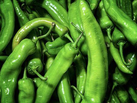 Green pepper close-up