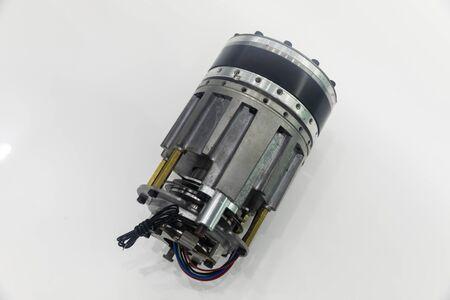 Robotic arm parts close up