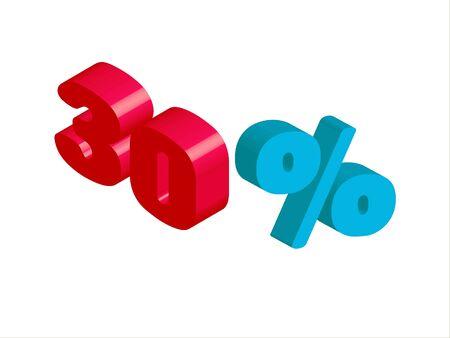 rebate: percentage sign