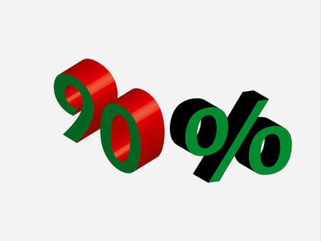 percentage: percentage sign