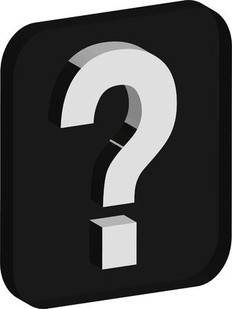 symbol  punctuation: question mark symbol