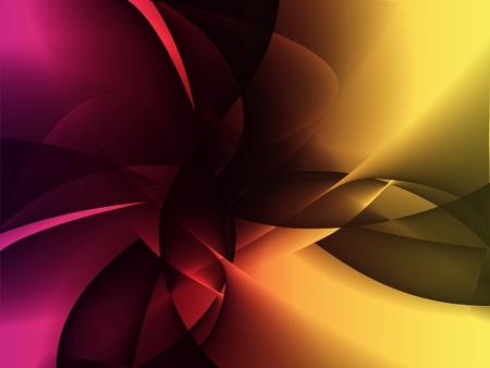 Background gradient, radial shape