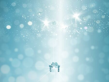 holiday background: holiday background with gift