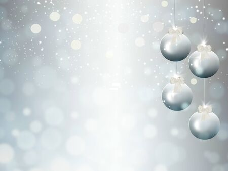 holiday background: holiday background with garlands Stock Photo