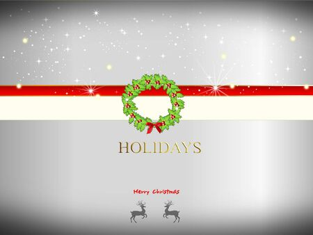 holiday background: holiday background with decoration