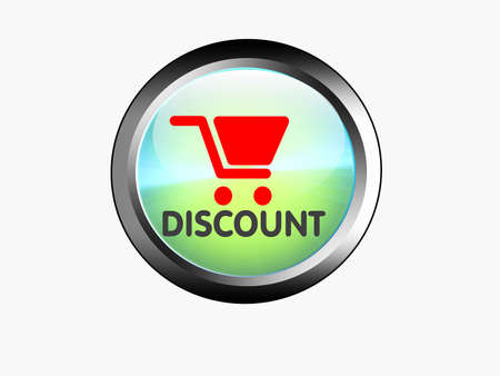 web marketing: web button, discount, marketing