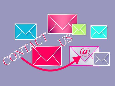 email contact: contact us, email