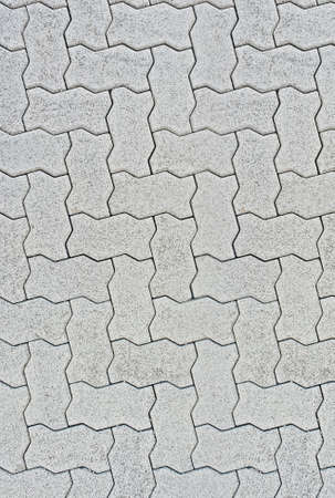 Interlocking concrete paver tiles , seamless repeatable all sides, ready for 3D mapping texture