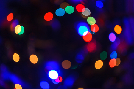 christmas abstract blurred background multi colored lights unfocused image stock photo 91880152