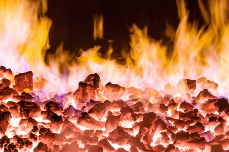 anthracite coal: burning oven