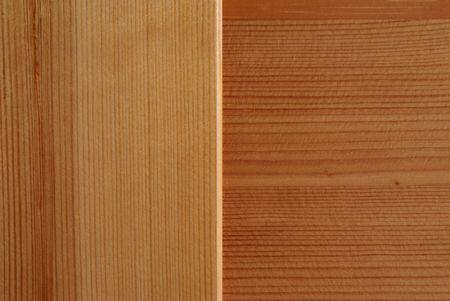 perpendicular: Due pezzi di legno con il grano in direzioni perpendicolari